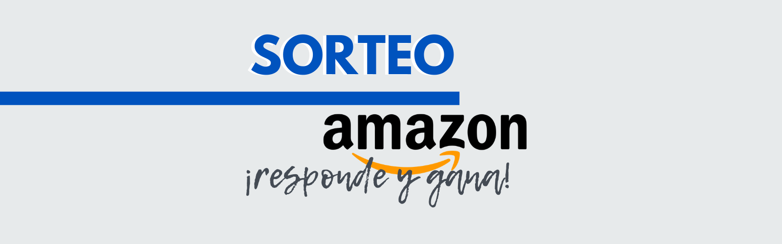SORTEAMOS UN CHEQUE REGALO 30€ EN AMAZON